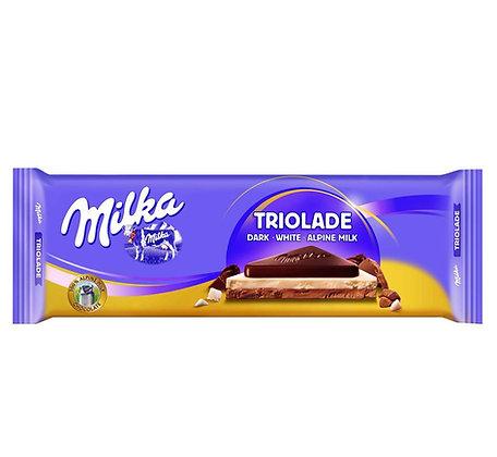CHOCOLATE MILKA TRIOLADE 280 GR