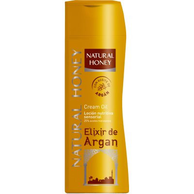NATURAL HONEY LOÇÃO ELIXIR DE ARGAN