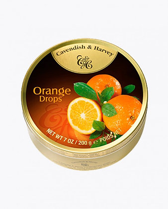 BALA CAVENDISH ORANGE DROPS 200GR