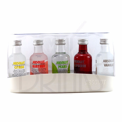 Absolut Vodka Mini 5 x 50ml