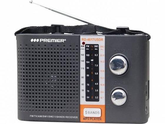 RADIO PREMIER  PORTATIL C/USB e SD PREMIER