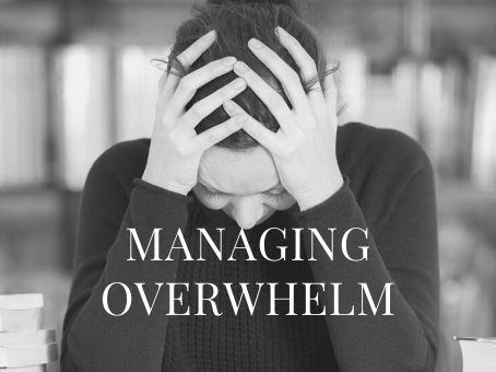 Don't stay stuck in overwhelm - 3 things you can try today.