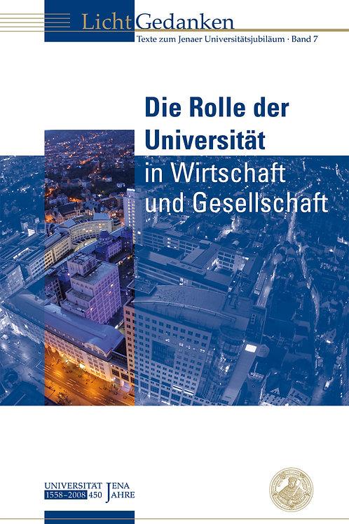 Die Rolle der Universität in Wirtschaft und Gesellschaft