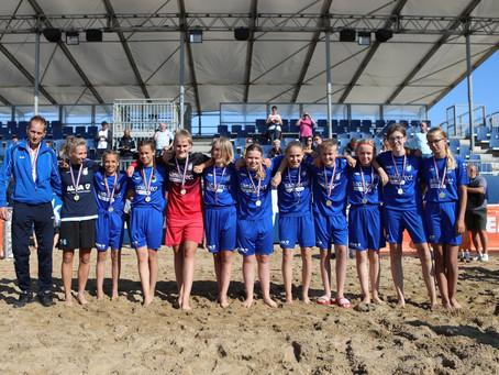 KTP Beach Soccer Mo15 Nederlands Kampioen op de Finale dag in Scheveningen.