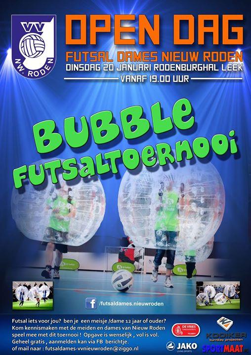 Facebook - Open dag bij VV Nieuw Roden Futsal dames !   Voetbalvereniging Nieuw-