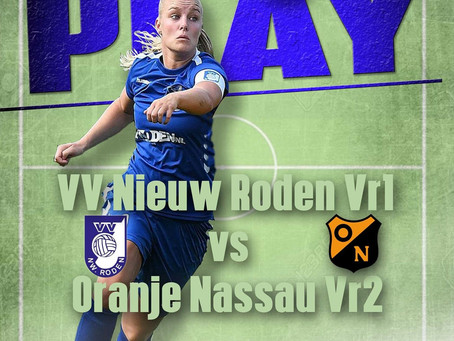 Nieuw Roden Vr1 - Oranje Nassau Vr2