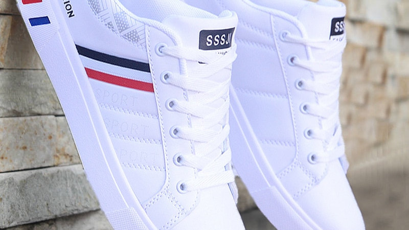 Casual Leather Sneakers, Trendy combinations available!