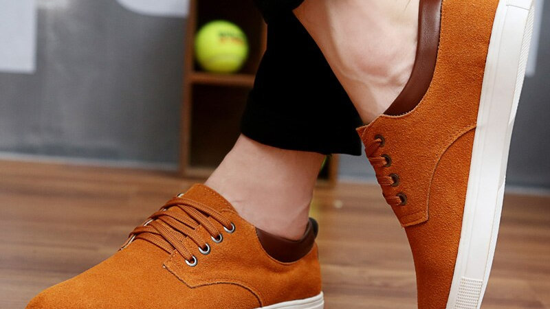 New Fashion Suede Men Flats Shoes, available in 5 colours!