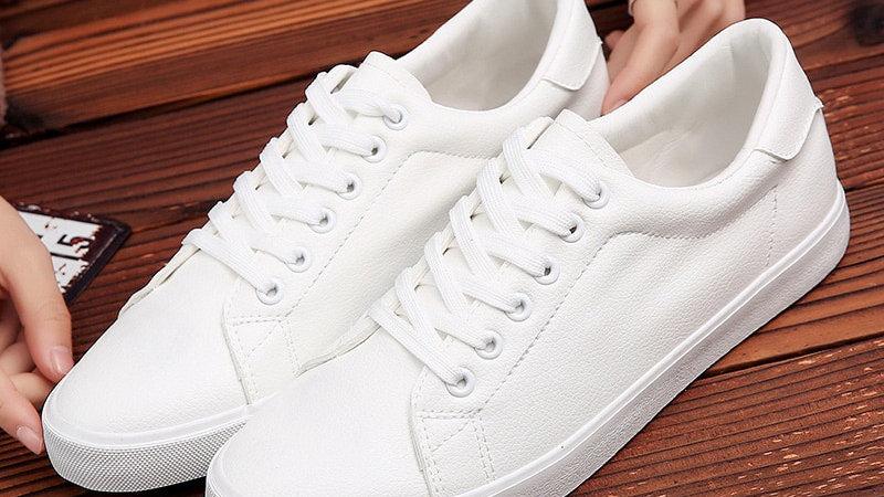 2020 Spring Shoes Men Sneakers Soft Microfiber