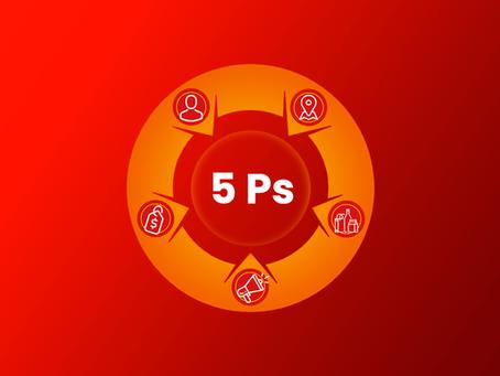Os 5 Ps do Marketing Digital