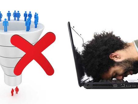 Os erros mais comuns ao se trabalhar com o funil de vendas