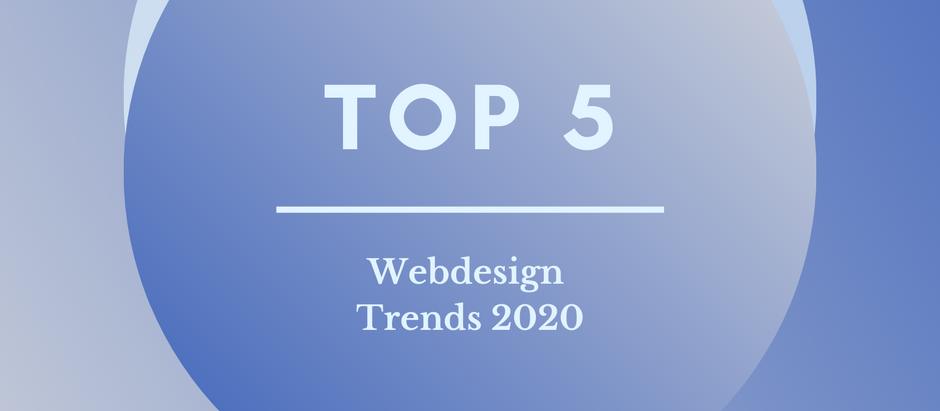 De Webdesign Trends Van 2020