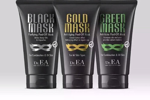 Face Mask - Gold, Green and Black Mask