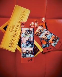 photo strip and box