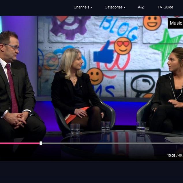 BBC Newsnight, January 2018