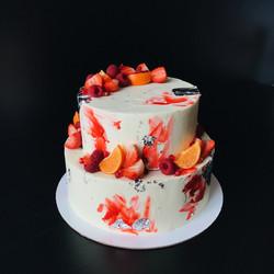 яркий торт на заказ спб