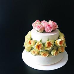 торт с цветами заказать спб