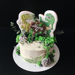 торт с динозаврами заказать