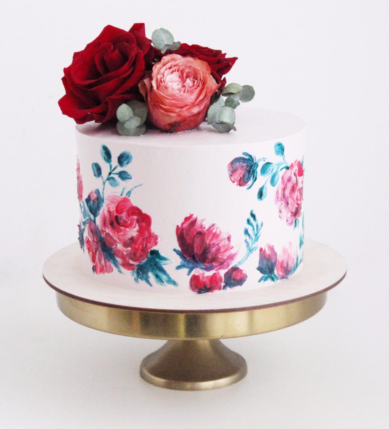 торт с рисунком заказать