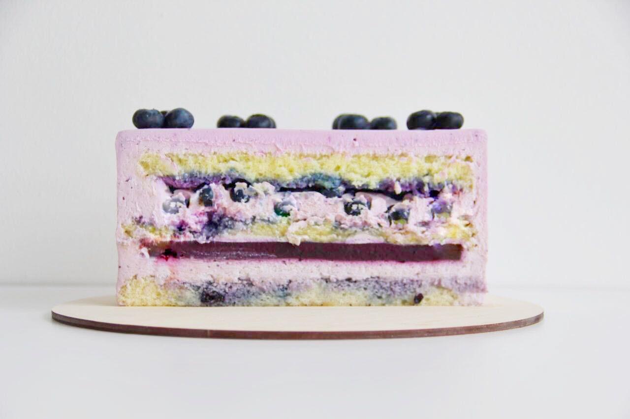 торт на заказ спб черника