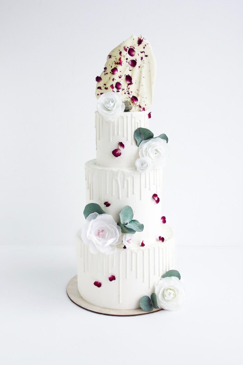 очень красивый свадебный торт