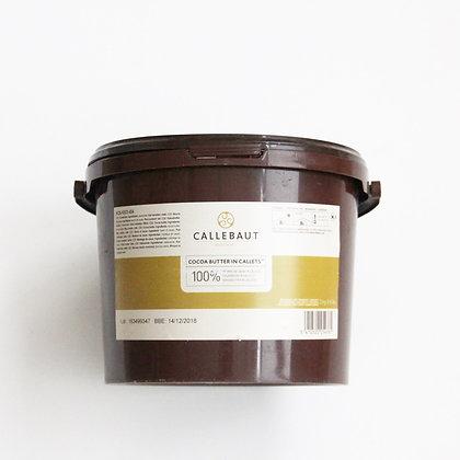 Какао масло в дисках Callebaut 100г