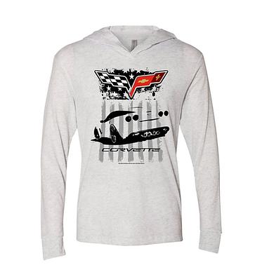 Ladies Corvette Hoodie Shirt (NSG-230)