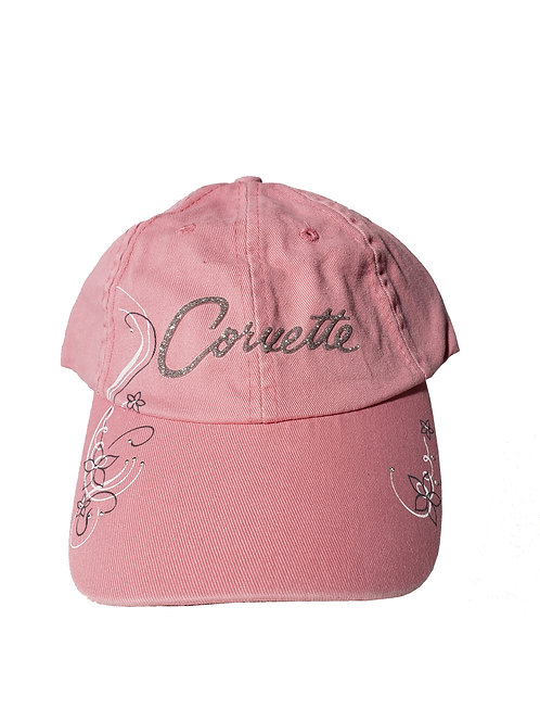 Ladies Pink Corvette Cap (CAP-127PR)