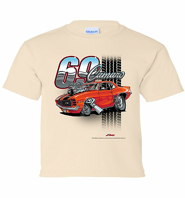 Youth 69 Camaro Tooned Up Tshirt (TDC-220YR)