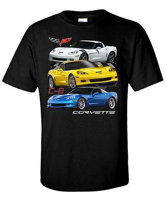 Corvette C6 T-shirt (TDC-245R)