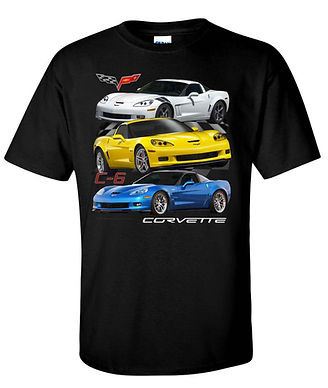 Corvette C6 T-shirt (TDC-245)