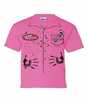 Vintage Little Mech Tshirt (VIN-006Y PinkR)