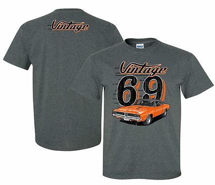 Vintage 69 Charger Tshirt (VIN-005R)