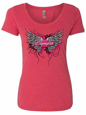 Ladies Camaro Wing Tshirt (NSG-400)