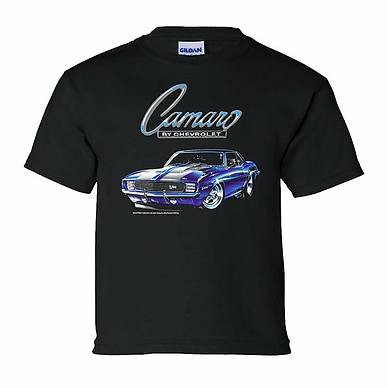Youth 69 Camaro Tshirt (TDC-175Y)