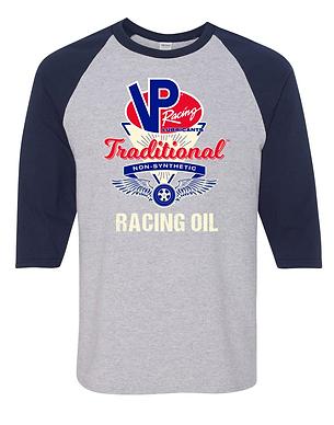 VP Racing Oil Classic Baseball Style Shirt (VP-009R)