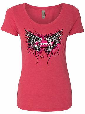 Ladies Chevelle Wing Tshirt (NSG-401R)