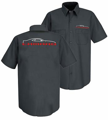 5th Gen Camaro Silhouette EMB Mech Tshirt (MS-101R)