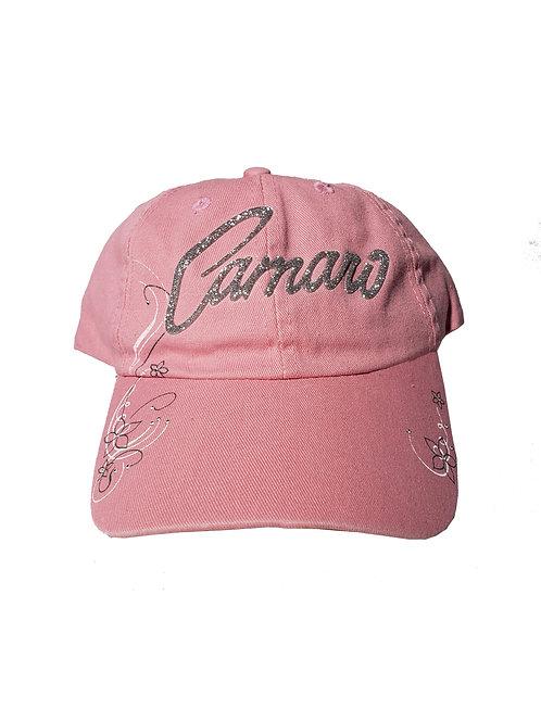 Ladies Pink Camaro Cap (CAP-126PR)