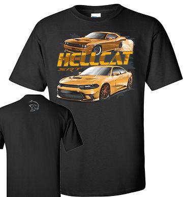 Hellcat Charger & Challenger T-shirt (TDC-102R)