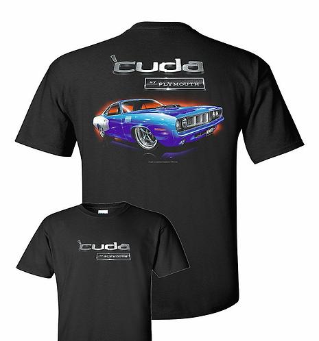 71 Plymouth Cuda Tshirt (TDC-215)