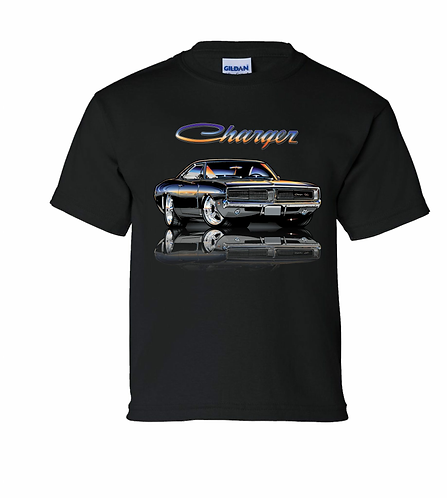 Youth 69 Charger Tshirt (TDC-160Y)