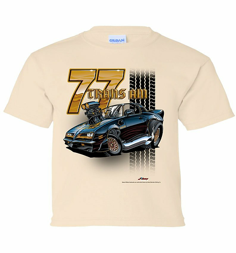Youth 77 Trans Am Tooned Up Tshirt (TDC-221YR)
