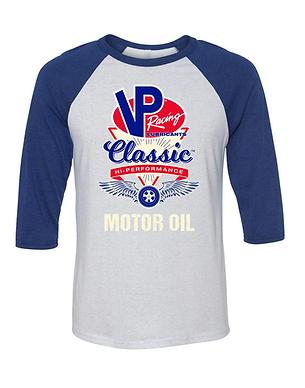 VP Racing Motor Oil Vintage Baseball Style Shirt (VP-008R)