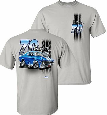 70 Nova Tooned Up Tshirt (TDC-223R)