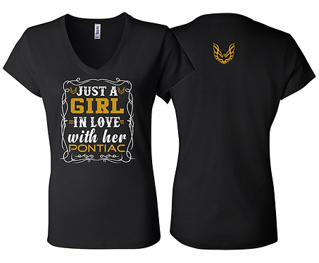 Ladies I Love My Pontiac Tshirt (NSG-229)