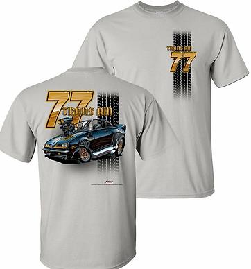 77 Trans Am Tooned Up Tshirt (TDC-221)