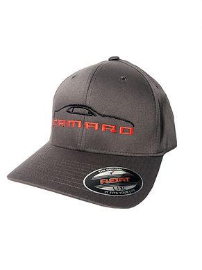 5th Gen Camaro Silhouette EMB Cap (CAP-302R)