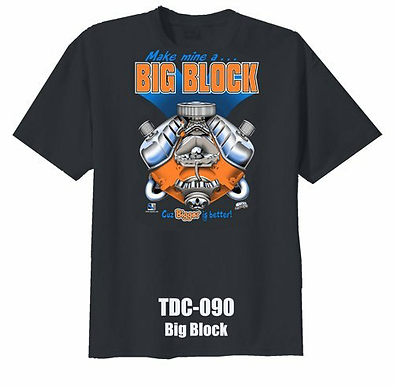 Big Block T-Shirt (TDC-090R)