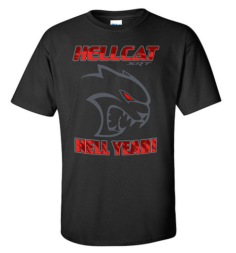 Hellcat Hell Yeah T-shirt (TDC-101R)